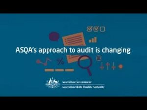 The Student Journey – ASQA Audit changes